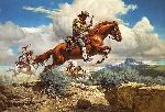 ~ Pony Express by Frank McCarthy