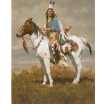 Spirit of the Plains People by Howard Terpning