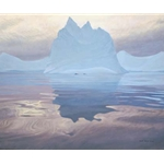 Antarctic Evening by Robert Bateman