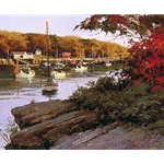 Autumn in Little River by Don Demers