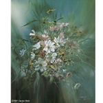 Out of the Blue - flower bouquet by Carolyn Blish