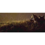 Abandoned - Wolf Pups by artist John Seerey-Lester