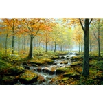 Autumn Gold Rush by Peter Ellenshaw