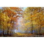 Autumn Solitude by Peter Ellenshaw
