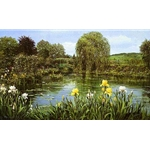 Bridge at Giverny by Peter Ellenshaw