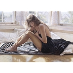 Comforting the Heart - figure study by artist Steve Hanks