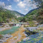 Canyon Shadows by Larry Dyke