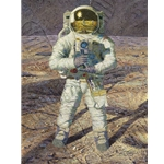 First Men: Neil A. Armstrong - Lunar pioneers by astronaut artist Alan Bean