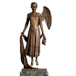 Christensen, James: Sleeper Lost in Dreams angel bronze