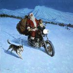 North Country Rider by Tom Lovell