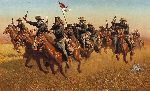 Buffalo Soldiers: Advance as Skirmishers Charge by Frank McCarthy