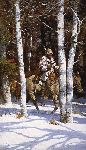 Blackfeet Among the Aspen by Howard Terpning