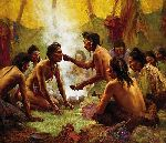 Blessing From the Medicine Man by Howard Terpning