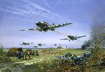 Adlertag 15 August 1940 by Frank Wootton