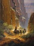 Canyon Trails by G. Harvey
