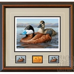 2015- 2016 Federal Duck Print MEDALLION EDITION - Ruddy Ducks by Jennifer Miller