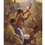 Medicine Man of the Cheyenne by Howard Terpning