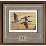 2017-2018 Federal Duck Stamp Print COLLECTOR'S EDITION ARTIST PROOF - Geese at Sunset by James Hautman