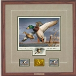 2018-2019 Federal Duck Stamp PRESIDENT's EDITION - Mallards by Robert Hautman