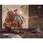 Fishing by artist James Christensen