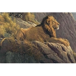 King of the Realm - Lion by Robert Bateman