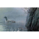 Evening Call - Common Loon by Robert Bateman