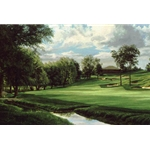 18th Hole Muirfield Village by Linda Hartough