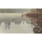 Summer Morning - Loon by Robert Bateman