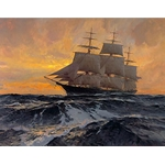 Witch of the Wave - Clipper Ship by Christoper Blossom
