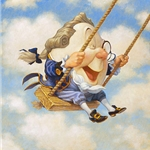 Humpty Dumpty Sat on a Swing by Scott Gustafson