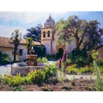 Springtime in the Mission Garden by June Carey