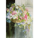 Hanging Hydrangeas by Carolyn Blish
