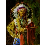 Chief of the Rosebud by Paul Calle