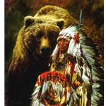 My Brother...The Grizzly by artist Paul Calle