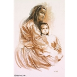 Navajo Madonna by artist Paul Calle