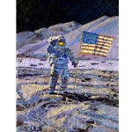 Jim Irwin, Indomitable Astronaut by astronaut artist Alan Bean