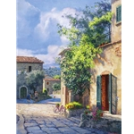 Lost in Chianti by artist June Carey