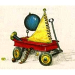 Draft of a Dream - childs wagon by fantasy artist Dean Morrissey