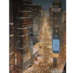 Times Square - New York City by Peter Ellenshaw