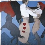 Dance Romance by western artist Donna Howell-Sickles