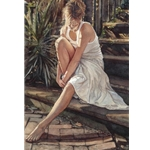 Thinking it Over by artist Steve Hanks