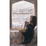 On the Warm Side of Winter by figure artist Steve Hanks