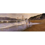 Morning at Baker's Beach by artist Steve Hanks