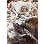 Small Miracle - baby by artist Steve Hanks