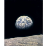 Mother Earth by astronaut artist Alan Bean
