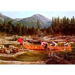 The Carrying Place - canoe trek by mountain man artist Paul Calle