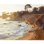 Sundown at Sea Ranch by artist June Carey