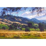 September Gold - California landscape by artist June Carey