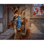 The Fox Guarding the Henhouse by fairy tale artist Scott Gustafson