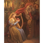 Beauty and the Beast by narrative artist Scott Gustafson